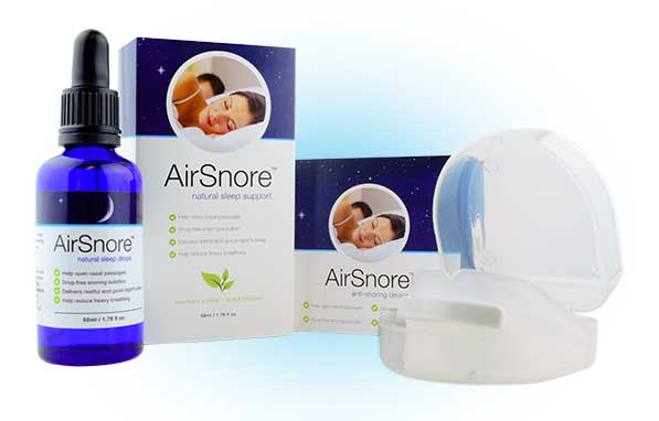 Air Snore natural sleep support