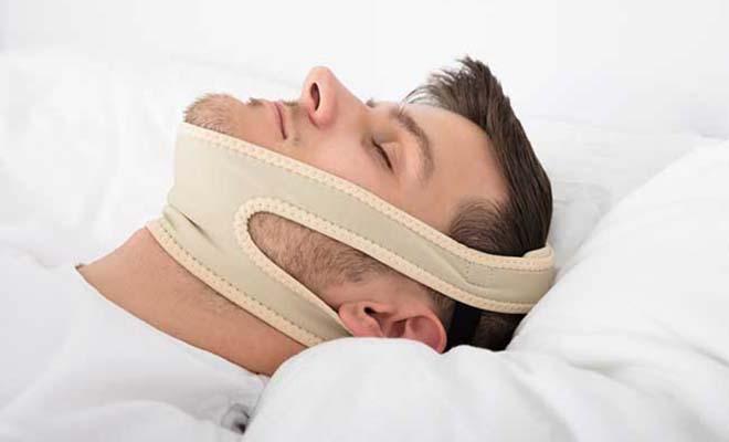 Anti-snoring Chin Straps