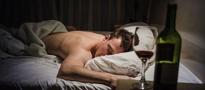 Snoring when drunk