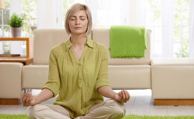 Stop snoring by doing yoga