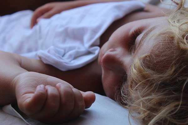 Snoring infant